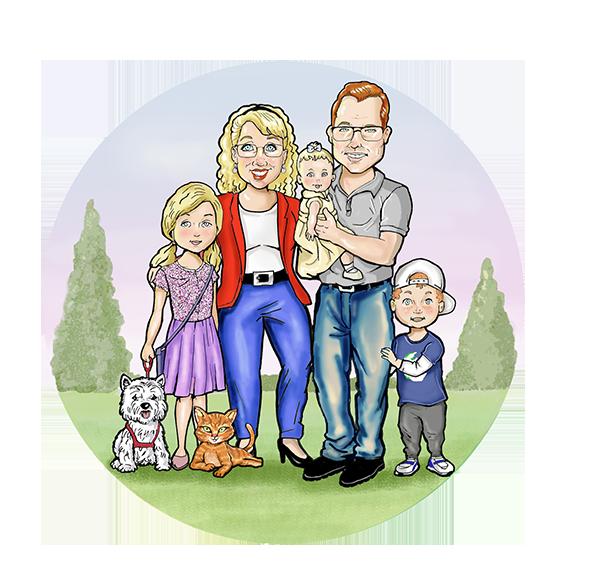 Catie's Family